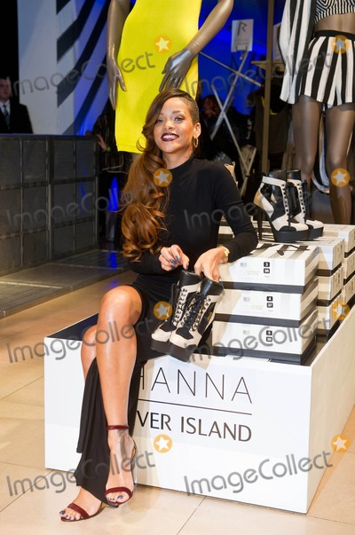 THE WINDOW Photo - London UK Rihanna at River Island Oxford St in  LondonThe Rihanna for River Island collection was spectacularly revealed to an excited crowd last night in an exclusive catwalk show in the window of their flagship Oxford St store before going on sale to the public for the first time 4th March 2013Landmark Media