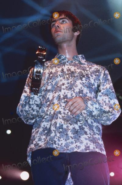 Gallagher Photo - LondonUK LIBRARY  Liam Gallagher from Oasis performing in the 1990s  ReCaptioned 04122018PIP-Landmark MediaRefLMK11-SLIB041218-001JMILWWWLMKMEDIACOM