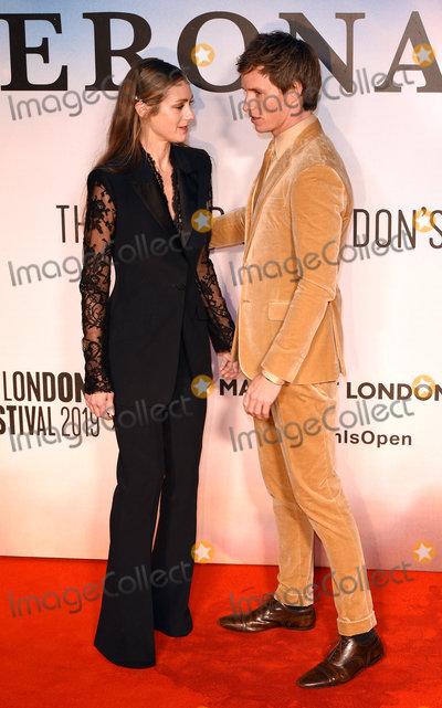 Eddie Redmayne Photo - London UK Hannah Bagshawe Eddie Redmayne at the premiere of The Aeronauts at the BFI London Film Festival held at Odeon Luxe Leicester Square London on Monday 7 October 2019Ref LMK392 -J5560-081019Vivienne VincentLandmark Media WWWLMKMEDIACOM