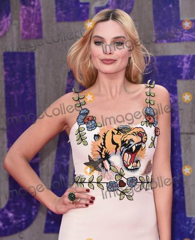 Margot Robbie Photo - London UK Margot Robbie at the European Premiere of Suicide Squad at the Odeon Leicester Square London on August 3rd 2016Ref LMK392-60941-040816Vivienne VincentLandmark MediaWWWLMKMEDIACOM