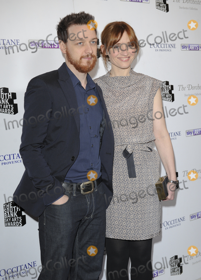 Anne Marie Duff Photo - London UK James MsAvoy and Anne-Marie Duff at The South Bank Sky Arts Awards 2013 held at the Dorchester Hotel Park Lane 12th March 2013Gary Mitchell Landmark Media