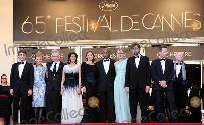 Hiam Abbass Photo - Cannes France Alexander Payne Andrea Arnold Jean-Paul Gautier Hiam Abbass Emmanuelle Devos Raoul Peck Diane Kruger President of the Jury Nanni Moretti and Ewan McGregor at the 65th Annual Cannes Film Festival of Moonrise Kingdom and the opening ceremony 16th May 2012SydLandmark Media