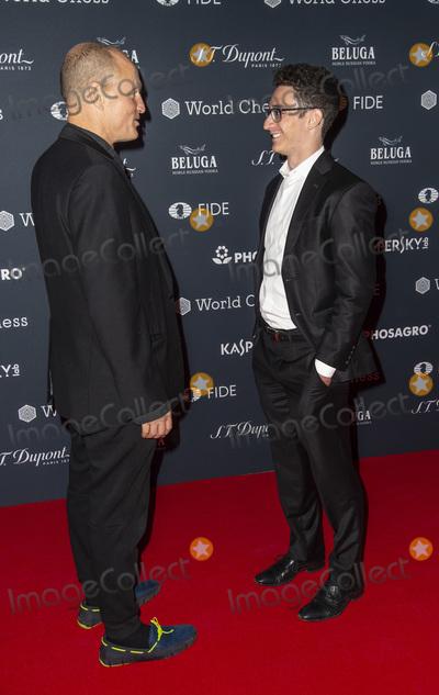 Woody Harrelson Photo - London UK  Woody Harrelson and Fabiano Caruana  attend the FIDE World Chess Championship Gala Opening VA London on November 8 2018 in London EnglandRef LMK386-J2917-091118Gary MitchellLandmark MediaWWWLMKMEDIACOM