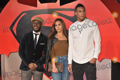 Anthony Watson Photo - London UK Anthony Watson (R)   at European Premiere of Batman v Superman - the Dawn of Justice Odeon Leicester Square London on March 22nd 2016Ref LMK326-LIB250316-001Matt LewisLandmark Media WWWLMKMEDIACOM