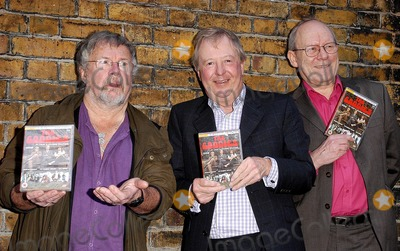 Brooke Taylor Photo - London The Goodies Bill Oddie Graeme Garden and Tim Brooke-Taylor show off their latest DVD At Last A Second Helping outside the Prince Charles Cinema12 February 2005Ali KadinskyLandmark Media