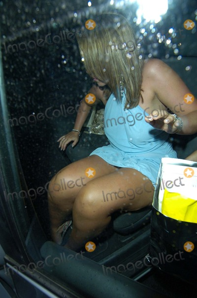 Andy Scott Lee Photo - London UK Michelle Scott-Lee leaves  her birthday party with husband  Andy Scott-Lee  Paper Bar and Nightclub   19th July 2007  Can NguyenLandmark Media