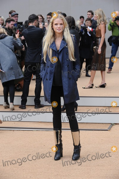 Gabriella Wilde Photo - London UK  160913Gabriella Wilde at the Burberry Prorsum Fashion Show during London Fashion Week SS14 held at Kensington Gardens16 September 2013Ref LMK200-45283EBES-160913WWWLMKMEDIACOMLandmark Media