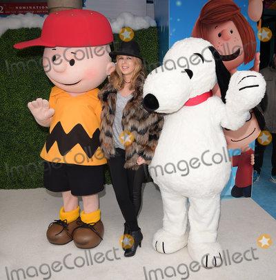 Charlie Brown Photo - London UK  Kate Garraway  at The UK Gala Screening of Snoopy and Charlie Brown at  The Peanuts Movie at Vue West End Leicester Square London on Saturday 28 November 2015Ref LMK392-58951-291115Vivienne VincentLandmark Media WWWLMKMEDIACOM