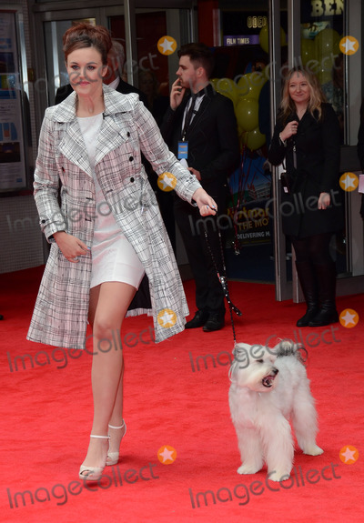 Ashleigh Butler Photo - London UK  Ashleigh Butler and Pudsey at the World Premiere of Postman Pat at Odeon West End Leicester Square  London  on May 11th 2014Ref LMK392 -48435-120514Vivienne VincentLandmark Media WWWLMKMEDIACOM