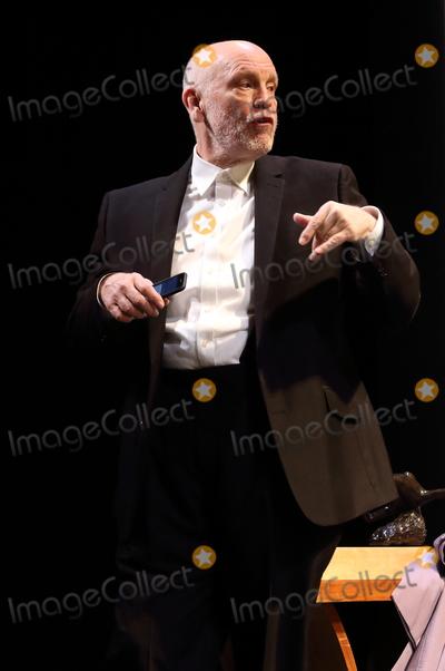 The Cast Photo - London UK John Malkovich leads the cast of Bitter Wheat at the Garrick Theatre London Also starring Doon Mackichan Ioanna Kimbook and Alexander Arnold Ref LMK73-J5052-140619Keith MayhewLandmark Media WWWLMKMEDIACOM
