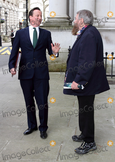 Julian Clary Photo - London UK Brian Blessed and David Cameron at the Petition To Downing Street Actors Brian Blessed and Annette Crosbie are among a group delivering a post card to 10 Downing Street signed by celebrities such as Joanna Lumley Twiggy Eddie Izzard and Julian Clary in support of greater transparency on animal research on World Day for Laboratory Animals 24th April 2013Keith MayhewLandmark Media