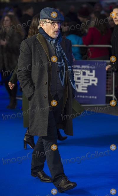 Steven Spielberg Photo - London UK Steven Spielberg  at Ready Player One - European film premiere at the Vue West End Leicester Square London on Monday 19 March 2018Ref LMK386-J1758-200318Gary MitchellLandmark MediaWWWLMKMEDIACOM