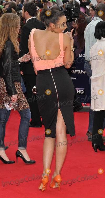 Amal Fashanu Photo - London UK  100414Amal Fashanu at  The Amazing Spider-Man 2 world film premiere held at the Odeon Leicester Square cinema in  Leicester Square10 April 2014Ref LMK315-48144-110414Can NguyenLandmark MediaWWWLMKMEDIACOM