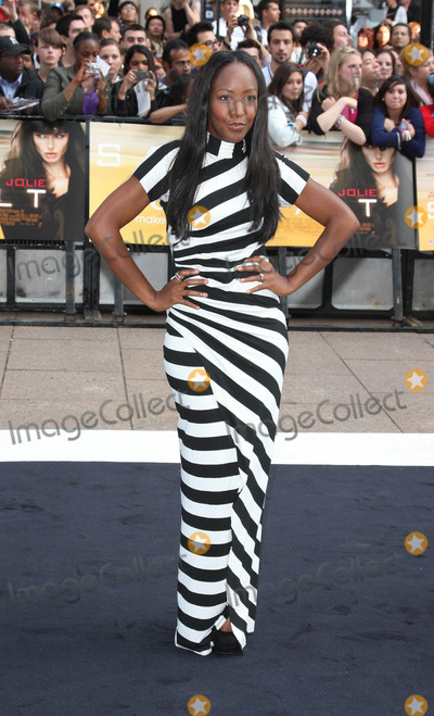 Angellica Bell Photo - London UK  160810Angellica Bell at the UK premiere of the film Salt held at the Empire Cinema in Leicester Square16 August 2010Keith MayhewLandmark Media