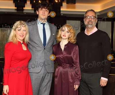 Anna Smith Photo - London UK Anna Smith John Dagleish Jenn Murray and Rich Cline at London Critics Circle Film Awards nominations photocall held at The Mayfair Hotel London on December 17th 2019Ref LMK73-J5937-191219Keith MayhewLandmark Media  WWWLMKMEDIACOM