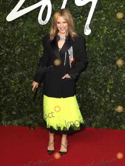 Kylie Minogue Photo - London UK Kylie Minogue  at the Fashion Awards 2019 at Royal Albert Hall London December 2nd 2019 Ref LMK73-J5890-031219Keith MayhewLandmark MediaWWWLMKMEDIACOM