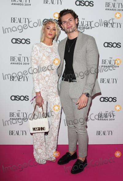 Joe Corr Photo - LondonUK Lucy Donlan and Joe Garratt  at  The Beauty Awards 2019 VIP Pink Carpet at City Central at the HAC Chiswell St London 25th November 2019RefLMK73-2625-261119Keith MayhewLandmark MediaWWWLMKMEDIACOM