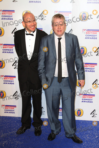 Alex MacQueen Photo - London UK  Alex MacQueen and  Martin Trenaman     at the British Comedy Awards at Fountain Studios Wembley London  16th December 2011 Keith MayhewLandmark Media