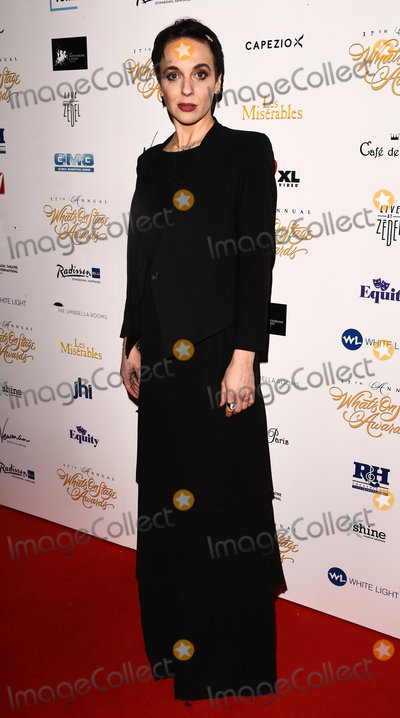 Amanda Abbington Photo - London UK Amanda Abbington at the 17th Annual Whats On Stage Awards held at The Prince Of Wales Theatre London on Sunday 19 February 2017 Ref LMK392 -61730-200217Vivienne VincentLandmark Media WWWLMKMEDIACOM