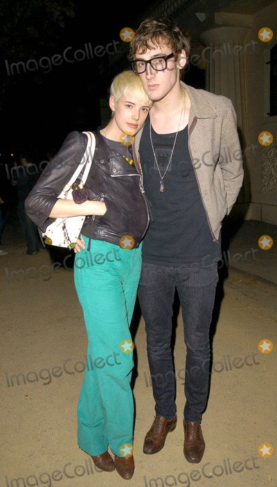 Agyness Deyn Photo - London UK Agyness Deyn and guest at the O2 Undiscovered 2007 final party celebrating the end of a new initiative to find up-and-coming musical talent held at the Institute Of Contemporary Arts in London 17th April 2007Can NguyenLandmark Media