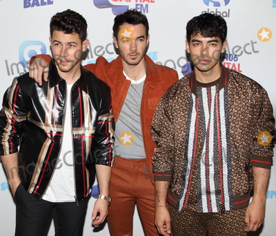 Jonas Brothers Photo - London UK The Jonas Brothers   at the  Capital FM Summertime Ball at Wembley Stadium London on June 8th 2019RefLMK73-S2542-090619Keith MayhewLandmark MediaWWWLMKMEDIACOM