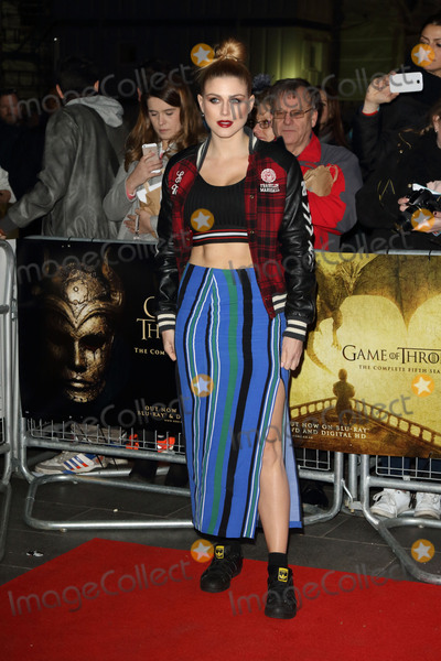 Ashley James Photo - London UK Ashley James at Game of Thrones Hardhome - special screening - at Empire Leicester Square London on March 14th 2016Ref LMK73-60094-150316Keith MayhewLandmark Media WWWLMKMEDIACOM