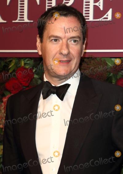 Editors Photo - London UK  George Osborne  (editor of the Evening Standard and former Chancellor of the Exchequer)   at the 65th Evening Standard Theatre Awards London Coliseum London England on the 24th  November 2019Ref LMK73-S2621-251119Keith MayhewLandmark MediaWWWLMKMEDIACOM
