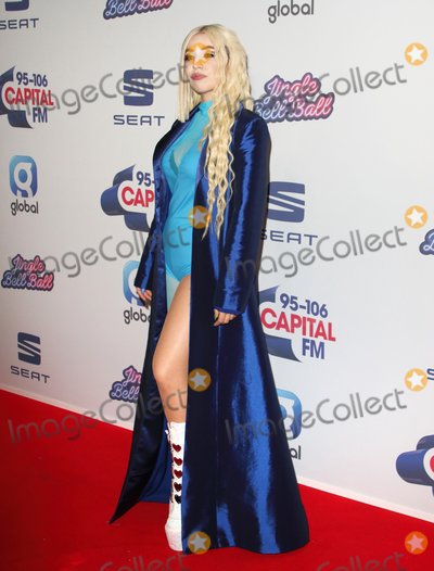 Ava Max Photo - London UK Ava Max   at Capitals Jingle Bell Ball The O2 London  7th December 2019 Ref LMK73-S2645-081219Keith MayhewLandmark MediaWWWLMKMEDIACOM