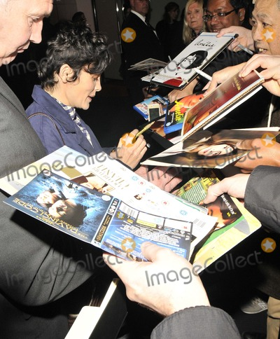 Audrey Tautou Photo - London UK  Audrey Tautou  at  the  Mood Indigo  film screening  QA Sci-Fi Film Festival London BFI Southbank Belvedere Rd 2nd May  2014 RefLMK315-48355-030514Can NguyenLandmark Media WWWLMKMEDIACOM