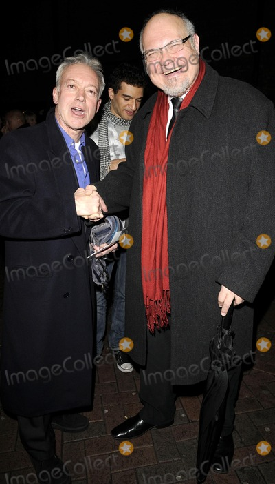 Nickolas Grace Photo - London UK Nickolas Grace and Mike McShane at Blowing Whistles press night at Leicester Square Theatre 23rd October 2008Can NguyenLandmark Media