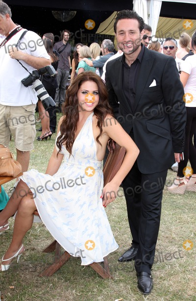 Anthony Costa Photo - Essex UK Bianca Gascoigne and Anthony Costa at the Duke of Essex Polo Cup at Gaynes park Epping Essex 17th July 2010Keith MayhewLandmark Media