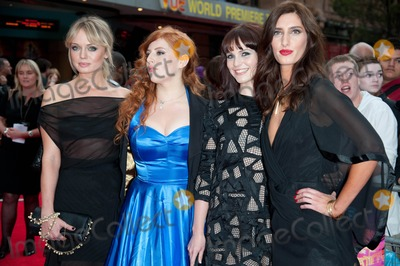Jessica Knappett Photo - London UK (L to R) Laura Haddock Lydia Rose Bewley Tamla Kari and Jessica Knappett at the World Premiere of The Inbetweeners Movie held at Vue Leicester Square 16th August 2011Justin NgLandmark Media