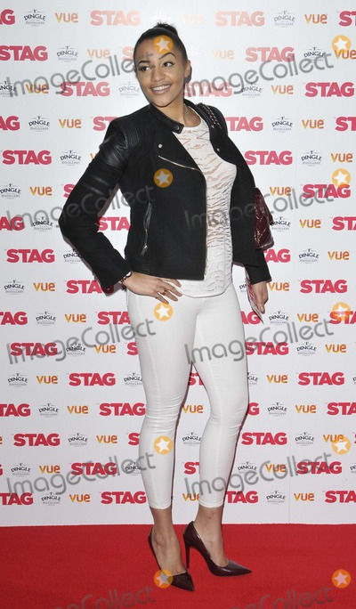 Amal Fashanu Photo - London UK Amal Fashanu at  the  The Stag  gala film screening Vue West End cinema Leicester Square 13th March  2014 in London England UKRefLMK315-47860-140314 Can NguyenLandmark MediaWWWLMKMEDIACOM
