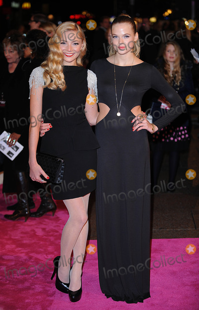 Gabriella Wilde Photo - London UK Clara Paget and Gabriella Wilde at the Premiere of  St Trinians 2 - The Legend Of  Frittons Gold at the Empire Leicester Square London  December 9th 2009 Can NguyenLandmark Media