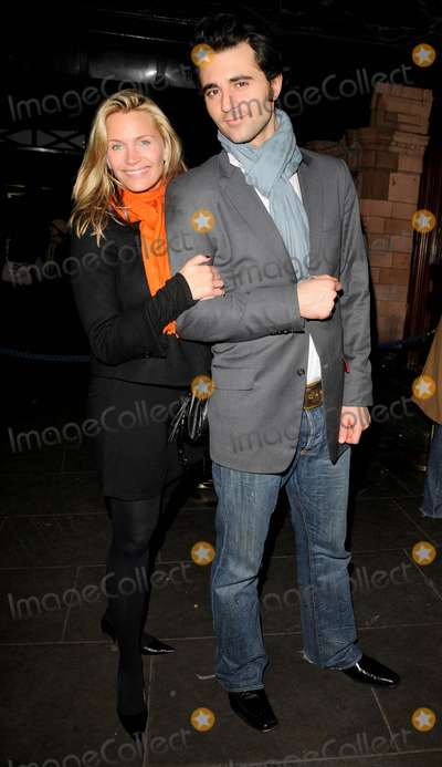 Darius Danesh Photo - London UK Natasha Henstridge and Darius Danesh at the Spamalot new cast change press night held at the Palace Theatre in London 11th March 2008Can NguyenLandmark Media