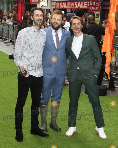 Blake Harrison Photo - London UK Blake Harrison Iain Morris and Joe Thomas at The Festival World Premiere at Cineworld Leicester Square London on Monday 13th August 2018Ref LMK73-J2471-140818Keith MayhewLandmark MediaWWWLMKMEDIACOM