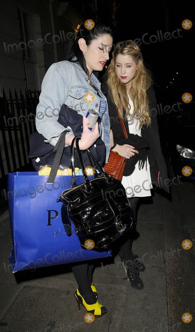 Amy Molyneaux Photo - LondonUK Amy Molyneaux and Peaches Geldof   PPQ Jackdaw Store opening party Burlington Arcade Piccadilly 8th April 2009  Can NguyenLandmark Media