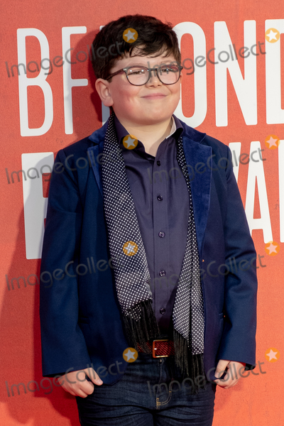 Archie Yate Photo - London UK Archie Yates at the JoJo Rabbit European Premiere during the 63rd BFI London Film Festival at the Odeon Luxe Leicester Square on October 05 2019 in London England Ref LMK399-J5551-061019Robin Pope Landmark MediaWWWLMKMEDIACOM