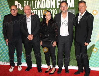 Bruce Springsteen Photo - London UK  Jon Landau George Travis Barbara Carr Thom Zimny and Bruce Springsteen  at UK Premiere of Western Stars during the 63rd BFI London Film Festival at the Embankment Gardens 11th October 2019RefLMK73-S2444-121019 Keith MayhewLandmark Media WWWLMKMEDIACOM