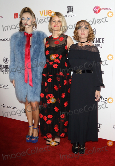 Alice Eve Photo - London UK 230917Hermione Corfield Alice Eve and Josephine de la Baume at the Raindance Film Festival Bees Make Honey UK Premiere held at the Vue West End Leicester Square23 September 2017Ref LMK88-MB1009-240917Keith Mayhew  Landmark MediaWWWLMKMEDIACOM