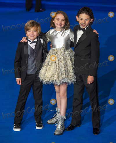 Albert Hall Photo - London UK  (L-R) Joel Dawson Pixie Davies and Nathanael Saleh  at the European Premiere of Mary Poppins Returns at Royal Albert Hall on December 12 2018 in London EnglandRef LMK386-J4041-131218Gary MitchellLandmark MediaWWWLMKMEDIACOM