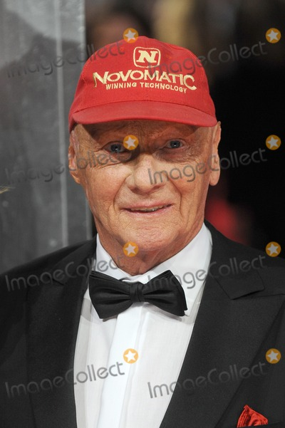 Niki Lauda Photo - London UKNiki Lauda at the EE British Academy Film Awards 2014 (BAFTAS) - Red Carpet Arrivals at the Royal Opera House Covent Garden London 16th February 2014Ref LMK200-47676-170214Landmark MediaWWWLMKMEDIACOM