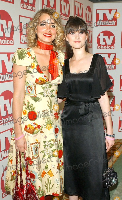 Charley Webb Photo - London Emmerdale stars Emma Atkins and Charley Webb (Charity and Debbie Dingle) at the TV Quick  TV Choice Awards 2005 held at the Crystal Suite at the Dorchester Hotel05 September 2005Eric BestLandmark Media