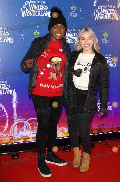 Nicolas Cazal Photo - London UK Nicola Adams and girlfriend  at Winter Wonderland 2019 VIP Launch at Hyde Park London on November 20th 2019Ref LMK73-J5836-211119Keith MayhewLandmark MediaWWWLMKMEDIACOM