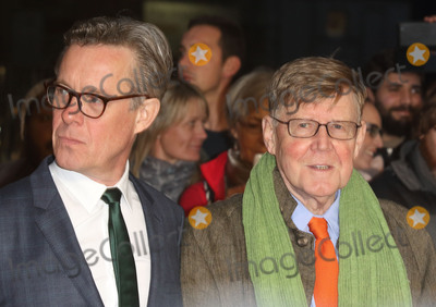 Alan Bennett Photo - London UK Alex Jennings and Alan Bennett at London Film Festival Centrepiece Gala The Lady in the Van at the Odeon Leicester Square London on October 13th 2015Ref LMK73-58359-141015Keith MayhewtLandmark Media WWWLMKMEDIACOM