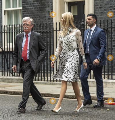 Theresa May Photo - LondonUK  John Bolton US National Security Advisor and Ivanka Trump leave 10 Downing street for a meeting as Prime Minister Theresa May and husband Philip May welcome US President Donald Trump and First Lady Melania Trump to 10 Downing street for a meeting on the second day of the US President and First Ladys three-day State visit4 June 2019Ref LMK386-MB3000-040619Gary Mitchell  Landmark Media WWWLMKMEDIACOM
