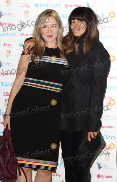 Claudia Winkleman Photo - London UK Victoria Coren-Mitchell and Claudia Winkleman  at Women of the Year Lunch  Awards at the InterContinental Hotel Park Lane London on Monday 15 October 2018Ref LMK73-J2778-161018Keith MayhewLandmark MediaWWWLMKMEDIACOM