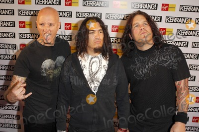 Robb Flynn Photo - London UK  Machine Head arrive at the Kerrang Awards held at Old Truman Brewery in London Band Memebers are Robb Flynn (Vocals) Adam Duce Dave McClain and Phil Demmel23rd August 2007Ali KadinskyLandmark Media