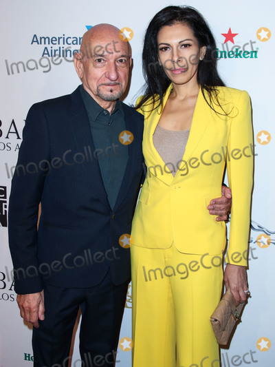 Ben Kingsley Photo - BEVERLY HILLS LOS ANGELES CA USA - JANUARY 05 Actor Sir Ben Kingsley and wife Daniela Lavender arrive at the BAFTA (British Academy of Film and Television Arts) Los Angeles Tea Party 2019 held at the Four Seasons Hotel Los Angeles at Beverly Hills on January 5 2019 in Beverly Hills Los Angeles California United States (Photo by Xavier CollinImage Press Agency)