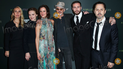 Billy Bob Thornton Photo - WEST HOLLYWOOD LOS ANGELES CALIFORNIA USA - DECEMBER 04 Samantha Taylor-Johnson Odessa Young Billy Bob Thornton Aaron Taylor-Johnson Giovanni Ribisi and Juliette Lewis arrive at the Los Angeles Special Screening Of Momentum Pictures A Million Little Pieces held at The London Hotel West Hollywood at Beverly Hills on December 4 2019 in West Hollywood Los Angeles California United States (Photo by Xavier CollinImage Press Agency)